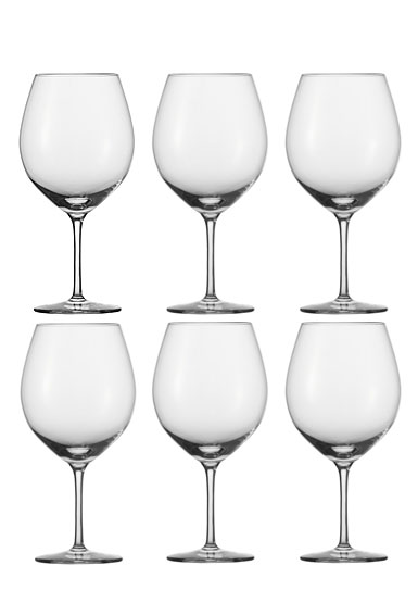 Schott Zwiesel Tritan Cru Classic Burgundy Glass, Set of Six