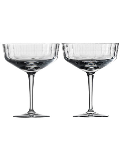 Zwiesel 1872 Charles Schumann Hommage Carat Cocktail Cup Small, Pair