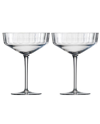 Zwiesel 1872 Charles Schumann Hommage Carat Cocktail Cup Large, Pair