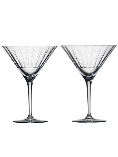 Zwiesel 1872 Charles Schumann Hommage Carat Martini Glass, Pair