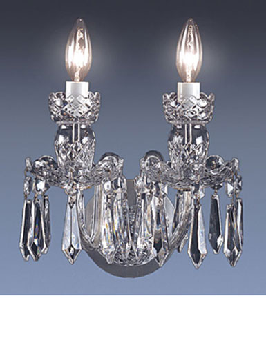 Waterford Crystal Wall Sconces : Waterford Avoca
