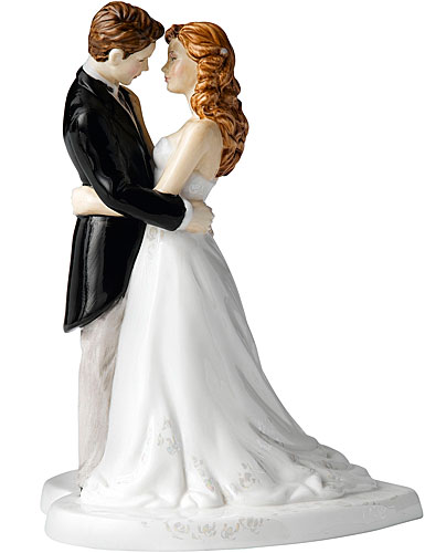 Royal Doulton Pretty Ladies Our Wedding Day (Cake Topper)