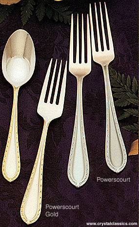 Waterford Powerscourt Matte Flatware, 5-Piece Place Setting
