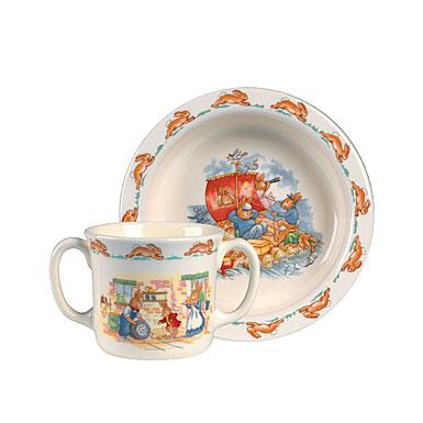 Royal Doulton China Bunnykins 2-Piece Set