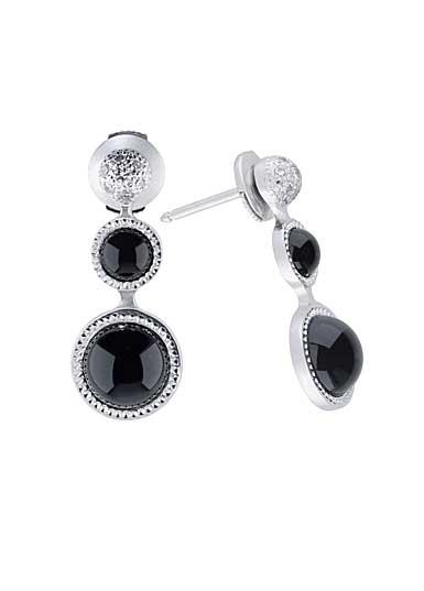 Lalique Petillante Earrings, Black