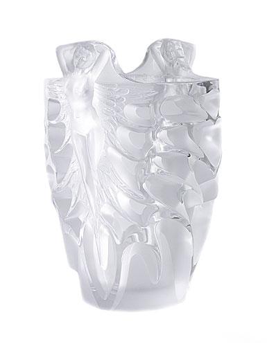 Lalique Metamorphose Vase, Limited Edition