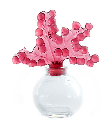 Lalique Red Clairefontaine Perfume Bottle