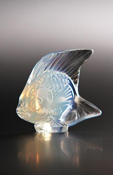 Lalique Opalescent Lustre Fish Sculpture