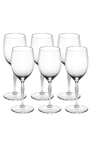 Lalique 100 Points Water Glasses By James Suckling, Set of six