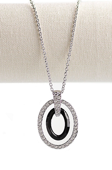 Swarovski Logan Oval Pendant Necklace