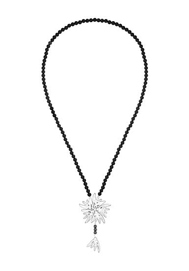 Lalique Hirondelles Necklace, Clear