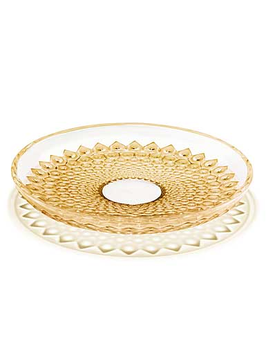 Lalique Provence Rayons Bowl, Gold Lustre