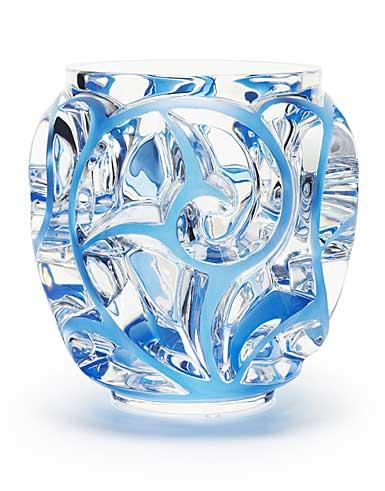 Lalique Tourbillons XXL Vase, Blue Limited Edition