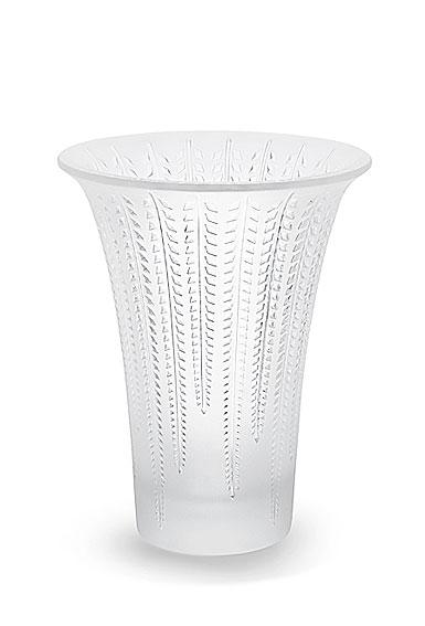 Lalique Glycines Flared Vase