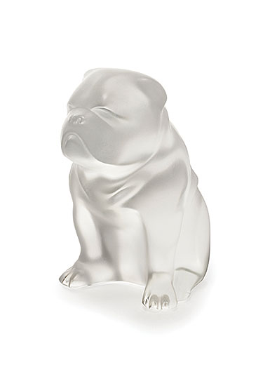 Lalique Bulldog Sculpture