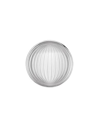 Lalique Vibrante Round Brooch, Silver