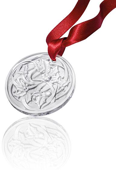 Lalique Annual 2017 Ornament Entrelacs, Clear