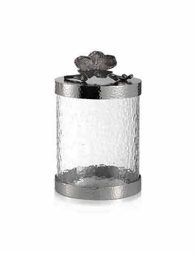 Michael Aram Black Orchid Canister, Small