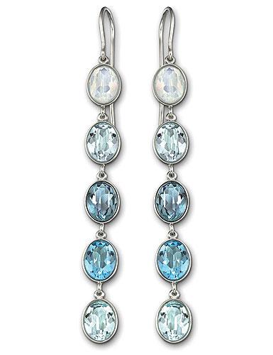 Swarovski Blue Neva Pierced Earrings