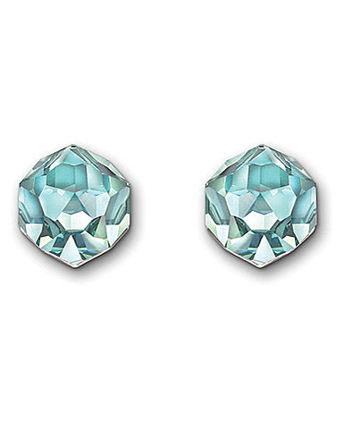 Swarovski Nuts Pierced Earrings, Light Azore Moonlight