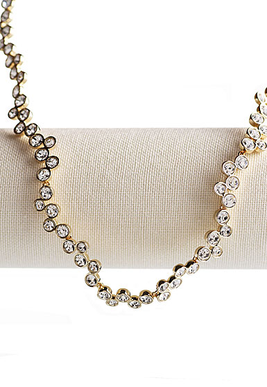 Swarovski Fidelity Collar Necklace, Shiny Gold
