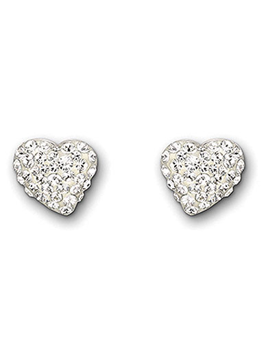 Swarovski Alana Heart Pierced Earrings