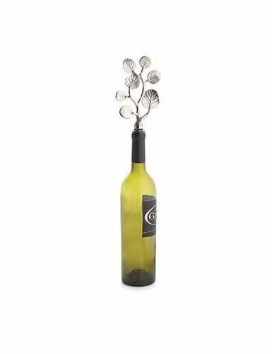 Michael Aram Botanical Leaf Wine Bottle Stopper