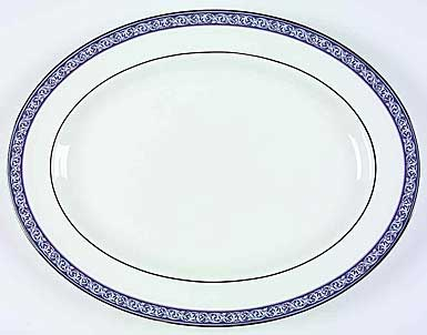 "Waterford China Westport 15 1/4"" Oval Platter"