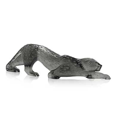 Lalique Zeila Grey Panther Scultpure