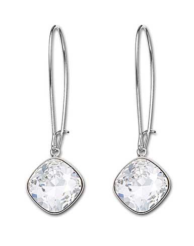 Swarovski Thankful Clear Crystal Pierced Earrings