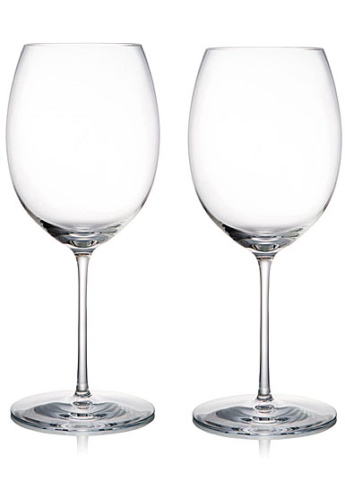 Rogaska 1665 Expert Red Wine, Pair