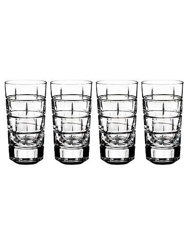 Rogaska Quoin Shotglass, Set of 4