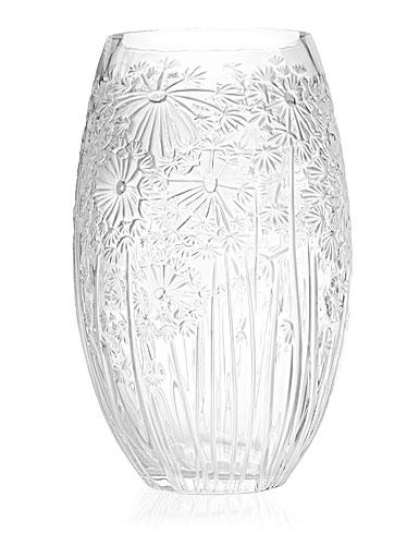 Lalique Bucolique Vase Large Clear