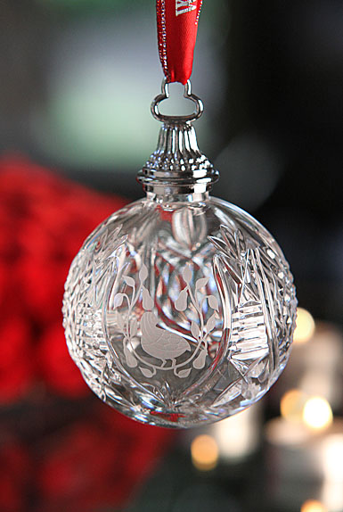 Waterford 12 Days of Christmas Commemorative Ornament