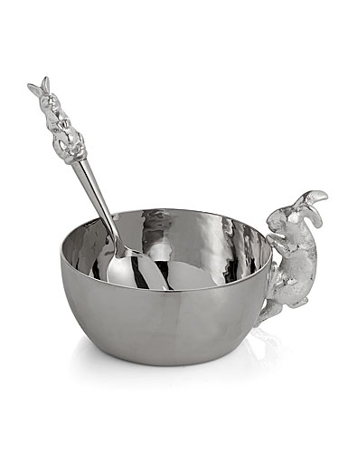Michael Aram Children Bunny Cup With Spoon Set