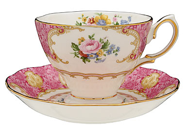 Bone china with gold banding. Dishwasher safe.  sc 1 st  Shannon & Royal Doulton Royal Albert Lady Carlyle Dinnerware - Shannon