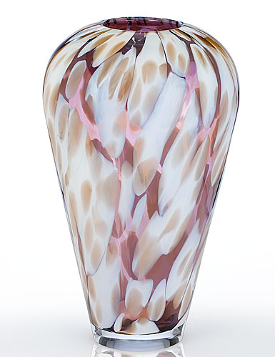 Waterford Evolution Urban Safari Spotted Vase