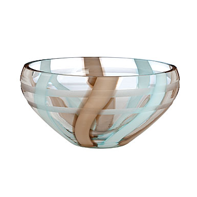 "Evolution By Waterford Espresso Swirl, 10"" Bowl"