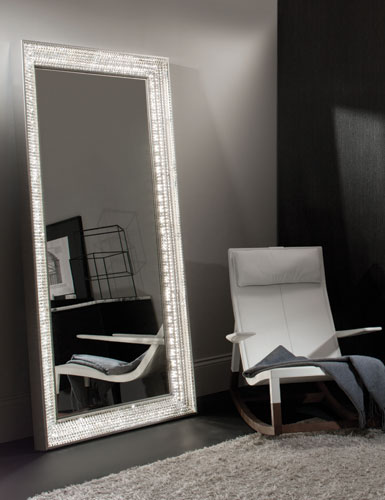 Waterford Jo Sampson Collection London Floor Mirror