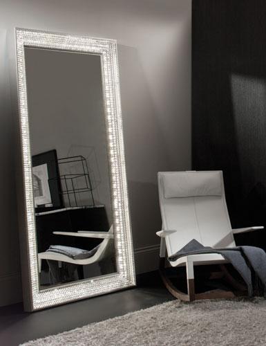 Waterford Jo Sampson Collection London Floor Mirror
