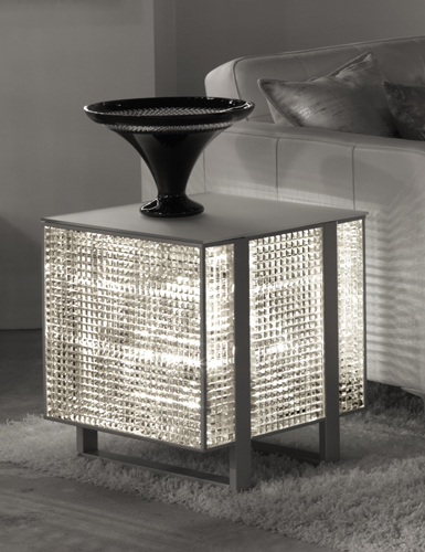 Mirrored Side Table. Image Of Popular Mirrored Side Table. Open ...