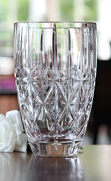 Marquis By Waterford Sparkle Vase 9in