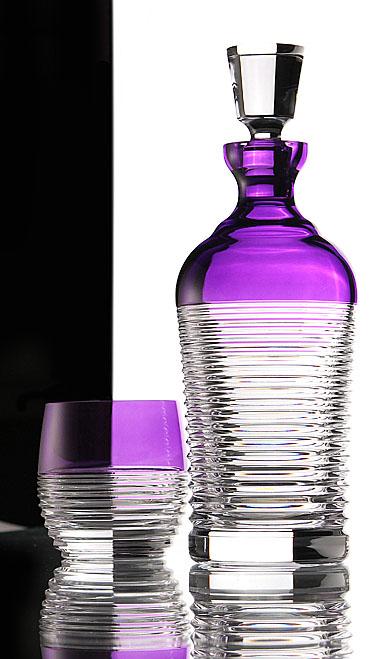 Waterford Mixology Circon Purple Decanter