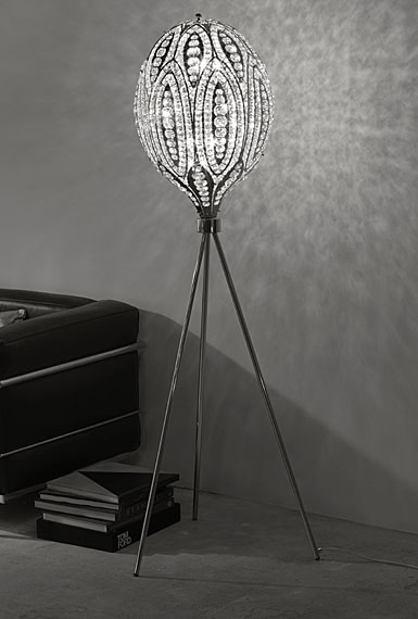 Waterford Luminescence Collection Persia Floor Lamp