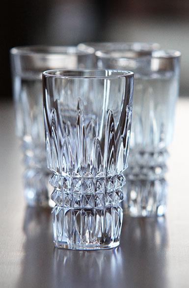 Waterford Lismore Diamond Vodka Shot Glasses, Set of Four