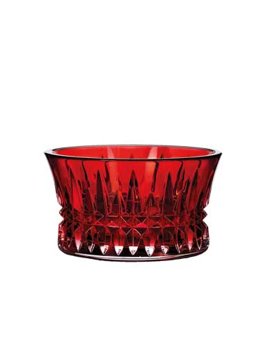 Waterford Lismore Diamond Crimson Nutbowl