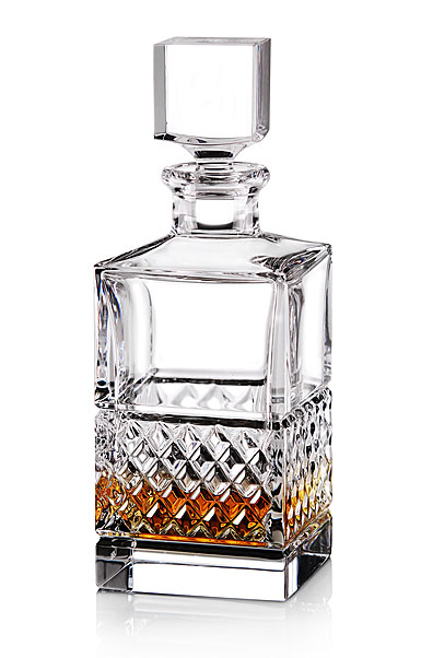 cashs crystal cooper single malt whiskey square decanter. Black Bedroom Furniture Sets. Home Design Ideas