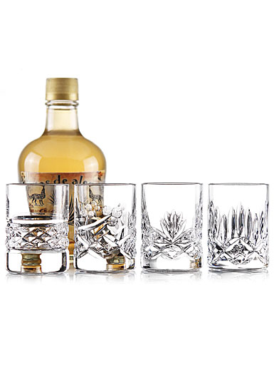 Cashs Shot Glass Set of Four Patterns