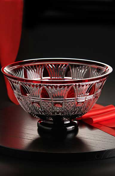 Waterford times square 2015 red cased bowl - Waterford crystal swimming pool times ...