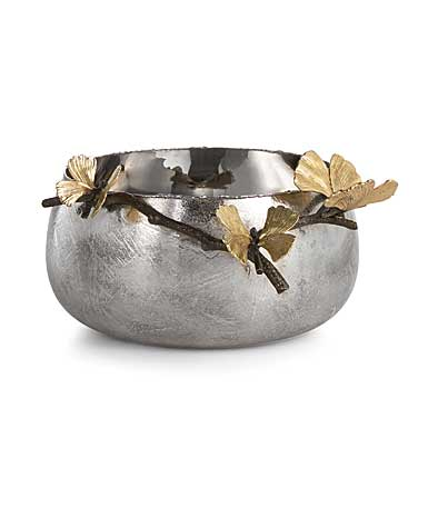 "Michael Aram Butterfly Ginkgo 9"" Serve Bowl"